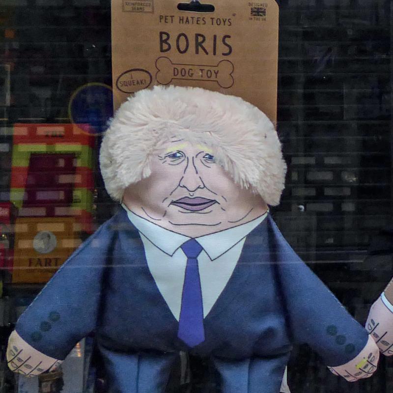 Boris Johnson exhibiting statesmanship